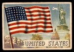 1956 Topps Flags of the World #1   United States Front Thumbnail