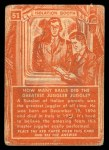 1957 Topps Isolation Booth #51   How Many Balls Did the Greatest Juggler Juggle Back Thumbnail