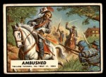 1962 Topps Civil War News #63   Ambushed Front Thumbnail