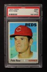 1970 Topps #580  Pete Rose  Front Thumbnail