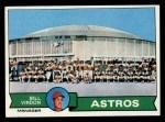 1979 Topps #381   -  Bill Virdon Astros Team Checklist Front Thumbnail
