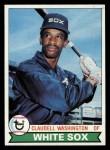 1979 Topps #574  Claudell Washington  Front Thumbnail