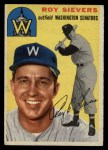 1954 Topps #245  Roy Sievers  Front Thumbnail