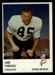 1961 Fleer #153  Joe Young  Front Thumbnail