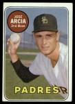 1969 Topps #473 *WN* Jose Arcia  Front Thumbnail