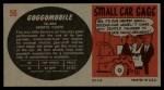 1961 Topps Sports Cars #56   Goggomobil Back Thumbnail