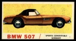 1961 Topps Sports Cars #24   BMW 507 Front Thumbnail