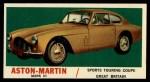 1961 Topps Sports Cars #14   Aston-Martin Mark III Front Thumbnail