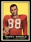 1961 Topps #118  Sonny Randle  Front Thumbnail