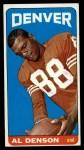 1965 Topps #49  Al Denson  Front Thumbnail