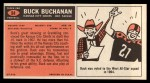 1965 Topps #94  Buck Buchanan  Back Thumbnail