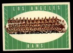 1961 Topps #56   Rams Team Front Thumbnail