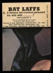 1966 Topps Batman Color #53 CLR  Batman Back Thumbnail