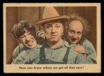 1959 Fleer Three Stooges #76   Now You Know Where We Got All  Front Thumbnail