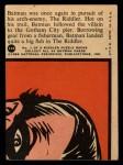 1966 Topps Batman Red Bat #11 RED  Landing a Big One Back Thumbnail