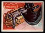 1966 Topps Batman Red Bat #5 RED  Pendulum Peril Front Thumbnail