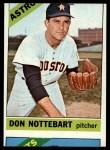 1966 Topps #21  Don Nottebart  Front Thumbnail