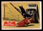 1966 Topps Batman Red Bat #38 RED  In the Path of Death Front Thumbnail
