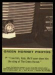 1966 Donruss Green Hornet #14   I see him Kato Back Thumbnail