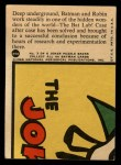 1966 Topps Batman Red Bat #25 RED  In the Bat Lab Back Thumbnail