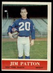 1964 Philadelphia #122  Jim Patton  Front Thumbnail