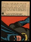 1966 Topps Batman Red Bat #7 RED  The Batline Life-line Back Thumbnail