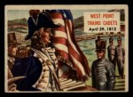 1954 Topps Scoop #121   West Point Trains Cadets Front Thumbnail