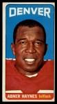 1965 Topps #53  Abner Haynes  Front Thumbnail