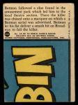 1966 Topps Batman Red Bat #44 RED  Batman on Broadway Back Thumbnail