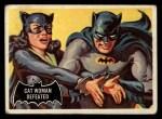 1966 Topps Batman Black Bat #35 BLK  Cat Woman Defeated Front Thumbnail