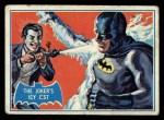 1966 Topps Batman Blue Bat Back #1 BLU  The Joker's Icy Jest Front Thumbnail
