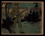 1941 Gum Inc. Uncle Sam Home Defense #74   Guard Duty Front Thumbnail