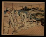 1941 Gum Inc. Uncle Sam Home Defense #16   Over The Bounding Main Front Thumbnail