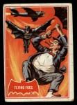 1966 Topps Batman Red Bat #31 RED  Flying Foes Front Thumbnail