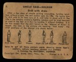 1941 Gum Inc. Uncle Sam Home Defense #2   Drill With Arms Back Thumbnail
