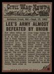 1962 Topps Civil War News #32   Death Struggle Back Thumbnail