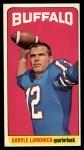1965 Topps #36  Daryle Lamonica  Front Thumbnail