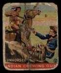 1933 Goudey Indian Gum #190   Unhorsed  Front Thumbnail