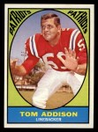 1967 Topps #5  Tom Tommy Addison  Front Thumbnail