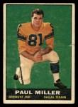 1961 Topps #137  Paul Miller  Front Thumbnail