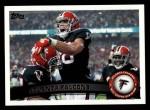 2011 Topps #119   Falcons Team Front Thumbnail