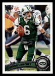 2011 Topps #150  Mark Sanchez  Front Thumbnail