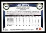 2011 Topps #96  Lofa Tatupu  Back Thumbnail