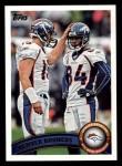 2011 Topps #17   Broncos Team Front Thumbnail