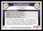 2011 Topps #53   Ravens Team Back Thumbnail