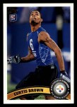 2011 Topps #214  Curtis Brown  Front Thumbnail