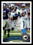2011 Topps #39  DeAngelo Williams  Front Thumbnail