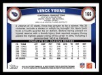 2011 Topps #166  Vince Young  Back Thumbnail