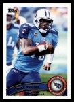 2011 Topps #166  Vince Young  Front Thumbnail