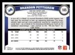 2011 Topps #105  Brandon Pettigrew  Back Thumbnail